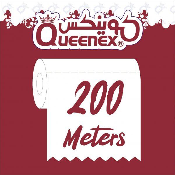 Queenex maxi roll 200